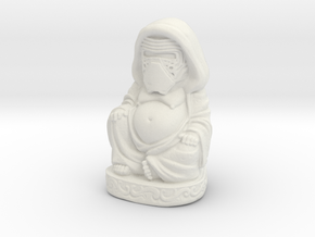 Kylo Ren Buddha - Large in White Natural Versatile Plastic