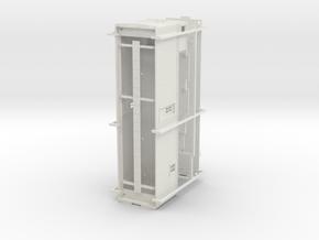CNR Flanger 56471 - O SCALE in White Natural Versatile Plastic