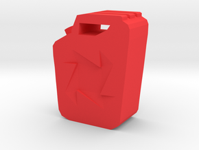 Jerry Can 1/10th Scale RC Cars in Red Processed Versatile Plastic