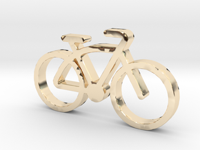 VitaVelo-FatBike in 14k Gold Plated Brass