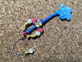 KH Keyblade Pendant Mysterious Abyss  in White Natural Versatile Plastic