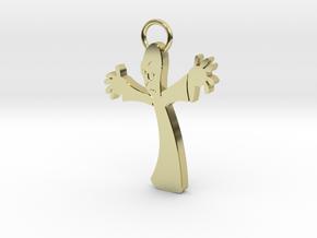 PPI Keychain in 18k Gold