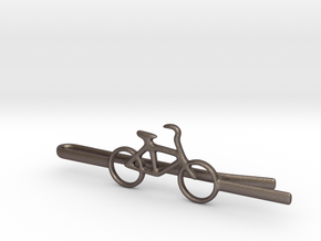 Bicycle tie clip in Stainless Steel