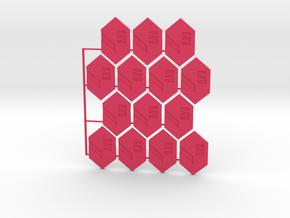 5 Credit in Pink Processed Versatile Plastic