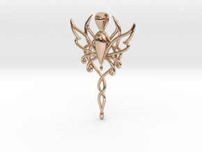 Spirit of Fantasy Faire in 14k Rose Gold Plated Brass