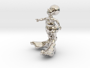 BIG FOOT KID 3'' in Platinum