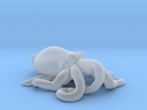 Octopus Pendant in Smoothest Fine Detail Plastic