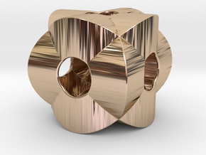 Pendant-c-3-2-30-p1o in 14k Rose Gold