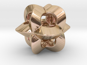 Pendant-c-4-3-10-p1o in 14k Rose Gold Plated