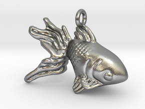 Golfish in Natural Silver