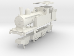 G.E.R. M15 (later LNER F5) class tank loco in White Natural Versatile Plastic