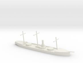 HMS Scorpion, 1/600 in White Natural Versatile Plastic