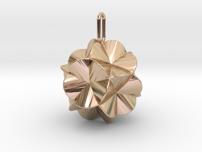 Pendant-c-6-5-20-45-p1o1 in 14k Rose Gold Plated Brass