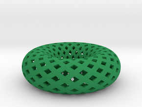 Torus in Green Processed Versatile Plastic