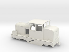 Locotracteur X Om 1:45 in White Strong & Flexible