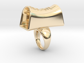 Message of love 24 in 14K Yellow Gold