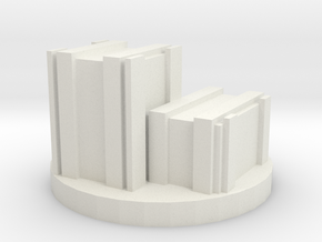 Die Holder Crates in White Natural Versatile Plastic