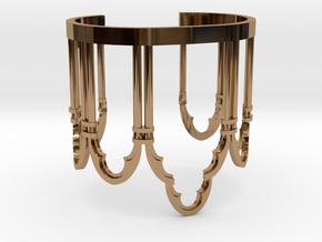 Venetian Window in Polished Brass