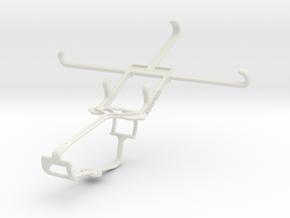 Controller mount for Xbox One & Lenovo Golden Warr in White Natural Versatile Plastic
