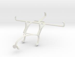 Controller mount for Xbox 360 & NIU Tek 5D in White Natural Versatile Plastic
