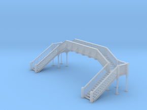 Footbridge N Scale in Smooth Fine Detail Plastic