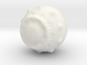 001 in White Natural Versatile Plastic