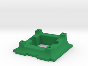 Runcam PZ0420M Holder for ZMR250 in Green Processed Versatile Plastic
