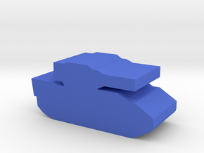 Game Piece, Blue Force IFV in Blue Processed Versatile Plastic