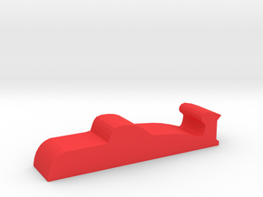 Game Piece, Red Force Attack Sub in Red Processed Versatile Plastic