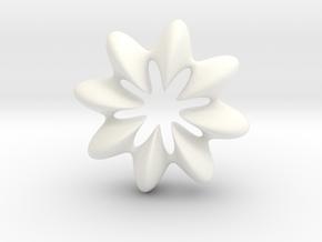 0068 AntisymmetricTorus (p=8.0) #010 in White Processed Versatile Plastic