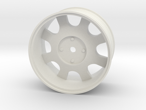 1/10 ATS Cup (12mm Hex) in White Natural Versatile Plastic