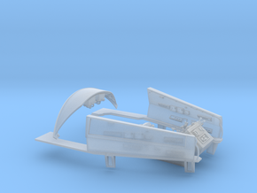 YT1300 DEAGO COCKPIT BITS INDIVIDUAL NO SEATS in Smooth Fine Detail Plastic