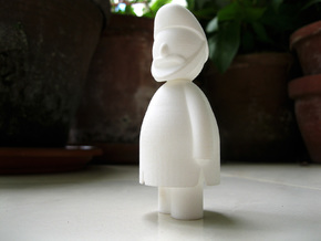 Singh - Indian-vidual Indian style figurine in White Natural Versatile Plastic