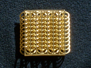 Chainmail6-80 in Natural Bronze