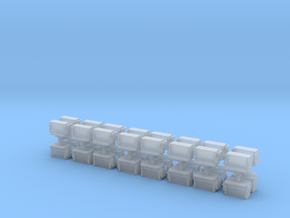 N Scale Ballast Gate M-K Version in Smooth Fine Detail Plastic