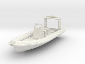 1/87 Rhib 7m in White Natural Versatile Plastic