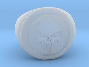 Punisher Size 7.5 in Smooth Fine Detail Plastic