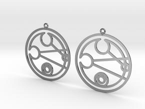 Leigh - Earrings - Series 1 in Premium Silver
