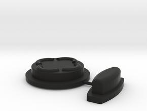 Vortex Manipulator Smart-watch Buttons in Black Natural Versatile Plastic