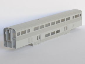 Amtrak California Car Cab Coach in Frosted Ultra Detail