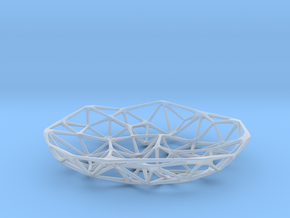 AltoCloud Bowl - Small in Smooth Fine Detail Plastic
