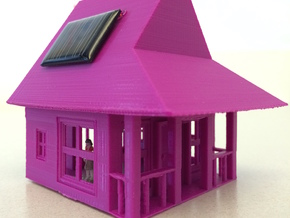My Dream House - Solar Nightlight in White Natural Versatile Plastic