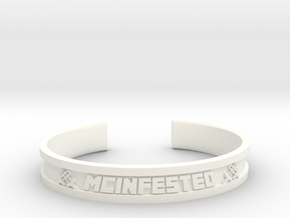 McBracelet (2.4 Inches) in White Processed Versatile Plastic