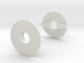 Pro Shields in White Natural Versatile Plastic