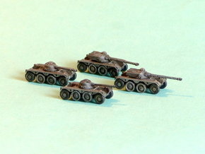 French EBR75 Heavy Scout Car 1/160 N-Scale in Frosted Ultra Detail