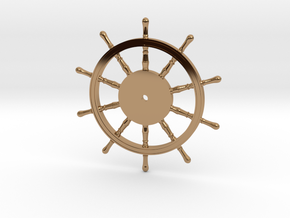 1:40 Ships-Wheel HMS Victory in Polished Brass