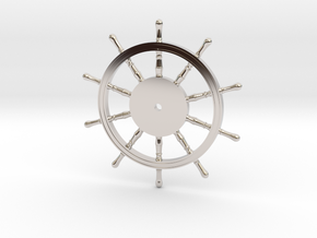 1:40 Ships-Wheel HMS Victory in Rhodium Plated Brass