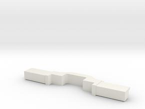 Screen Hub in White Strong & Flexible