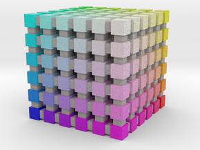 Web Safe Color Cube: 1 inch in Full Color Sandstone