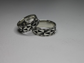 Melini Ring Size 11.75 in Polished Silver